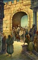 Jesus Enters Jerusalem Fine-Art Print