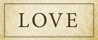Love Plaque Fine-Art Print