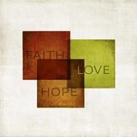 Faith, Hope, Love I Fine-Art Print