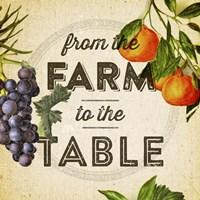 Farm To Table I Fine-Art Print