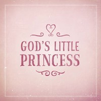 God's Little Princess Fine-Art Print
