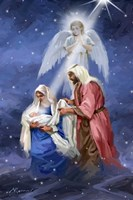 Joseph And Mary Fine-Art Print