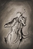 The Cellist Fine-Art Print