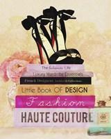 Fashionista Reads 2 Fine-Art Print