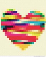 Rainbow Heart Fine-Art Print