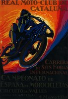Real Moto Club de Cataluna Fine-Art Print