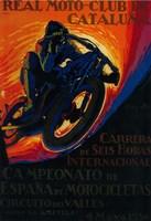 Real Moto Club de Cataluna Fine-Art Print