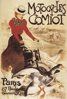 Motocyles Comiot Fine-Art Print
