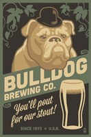 Bulldog Brewing Co. Fine-Art Print