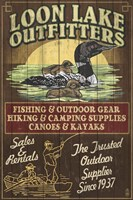 Loon Lake Outfitters Fine-Art Print