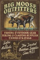 Big Moose Outfitters Fine-Art Print