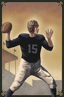 Vintage Football 1 Fine-Art Print