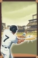 Vintage Baseball I Fine-Art Print
