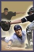 Vintage Baseball II Fine-Art Print
