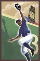 Vintage Baseball III Fine-Art Print