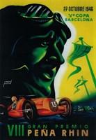 Gran Premio Pena Rhin Fine-Art Print