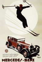 Mercedes Benz Fine-Art Print