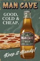 Man Cave Beer Fine-Art Print