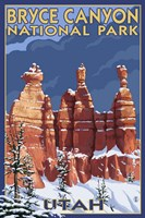 Bryce Canyon - Winter Fine-Art Print