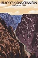 Black Canyon Fine-Art Print