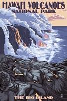 Hawaii Volcanoes Fine-Art Print