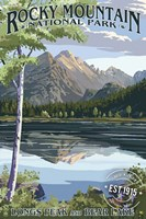 Rocky Mountain 3 Fine-Art Print