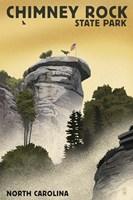 Chimney rock Fine-Art Print