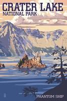Crater Lake 2 Fine-Art Print