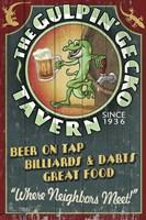 The Gulpin' Gecko Fine-Art Print