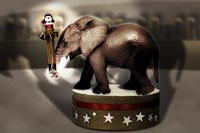 Elephant Dancer Fine-Art Print