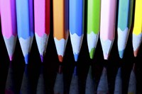 Floating Pencils Fine-Art Print