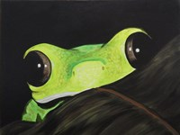 Peeking Frog Fine-Art Print