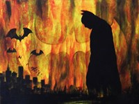 Dark Night over the City Fine-Art Print