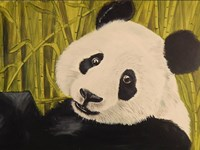 Happy Panda Fine-Art Print