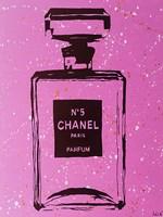 Purple Chanel No5 Pop Art Fine-Art Print