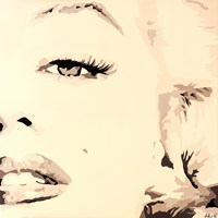 She Knows Marilyn Monroe Pop Art Fine-Art Print