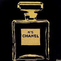 Chanel Black Urban Chic Fine-Art Print