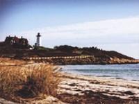 Nobska Lighthouse Landscape Fine-Art Print