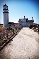 Highland Lighthouse Cape Cod MA Portrait Fine-Art Print