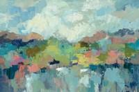 Abstract Lakeside Fine-Art Print