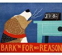Barkin for no Reason Beagle Fine-Art Print