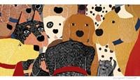 Dog Meeting Fine-Art Print