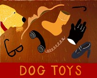 Dog Toys Yellow Fine-Art Print