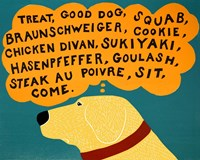 Dogs Can Only Learn a Few Words Fine-Art Print