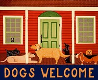 Dogs Welcome HSH II Fine-Art Print