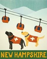 New Hampshire Ski Patrol Fine-Art Print