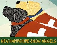 New Hampshire Snow Angels Fine-Art Print
