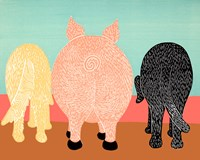 We Eat Like Pigs Fine-Art Print