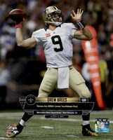 Drew Brees 400th Career Touchdown Pass October 4, 2015 in New Orleans, Louisiana Fine-Art Print