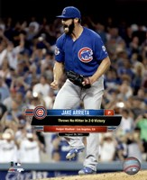 Jake Arrieta throws a No-Hitter August 30, 2015 Fine-Art Print